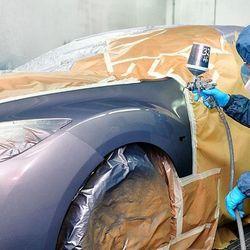 Funilaria e pintura automotiva