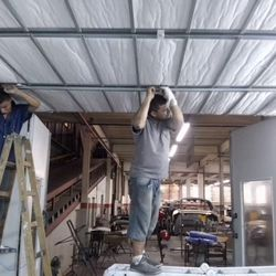 Manutenção de cabine de pintura automotiva
