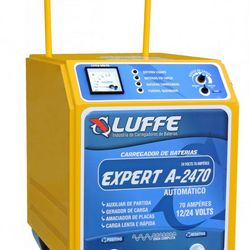 Carregador de bateria digital