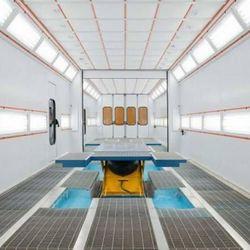 Filtro para cabine de pintura automotiva