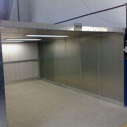 Projeto cabine de pintura automotiva